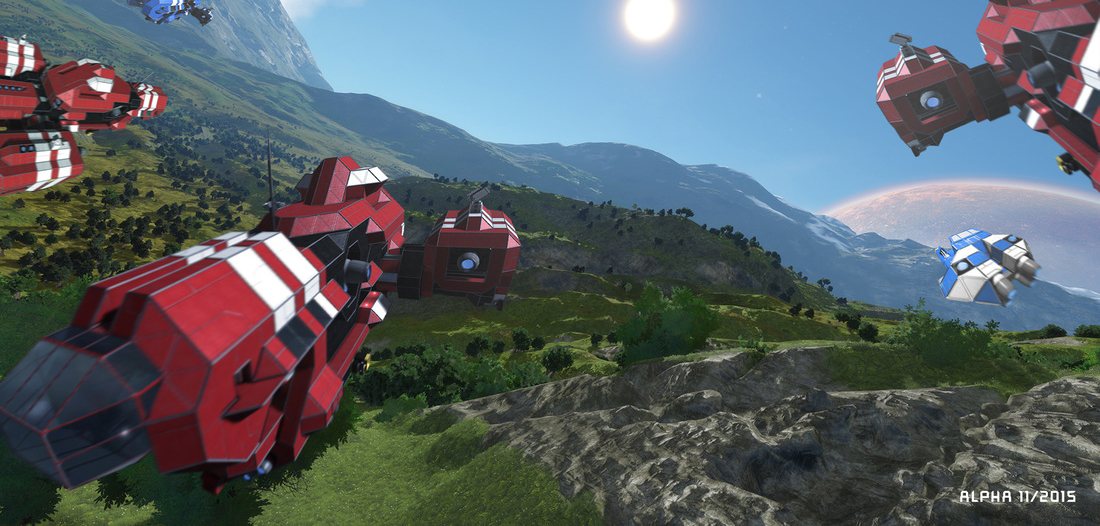 Besucht unsere Space Engineers Server